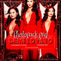 Pack Png 4 - Demi Lovato by mauriadkins77