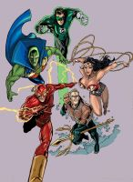 JLA big five by timothylaskey