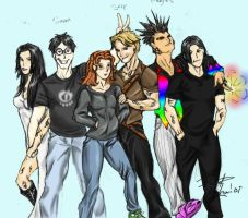 Mortal instruments colored by brimstoneman34