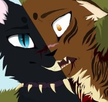 Tigerstar and Scourge The Final Battle by TheTeenFox