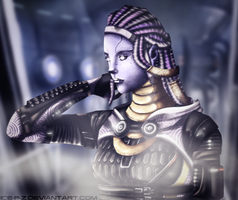 Tali'Zorah Face by Ice-P-Z