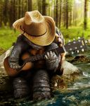 The Forest Turtle by Rungue