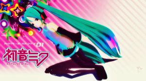 Miku Hatsune Wallpaper by Helly-Chan135