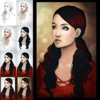 Scarlet Progression by jtgraffix