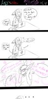 lazy x mike mini comic ( barbie girl ) by lazyfoxxx