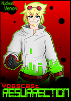 YOGS:RES POSTER: Lalna (Nuclear Venom) by Hiiragi-Wasabi