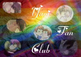 Yaoi Fan Club Flag by sabrinacat415