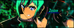 Aquarion EVOL Zessica Signature GFX by Nirvaxstiel