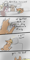 home work, pffft by Chargay
