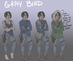 Gray Outfit Ref by Labalamps
