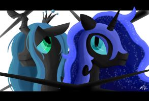 Two Enemys - One Pony by ForeverRoseify