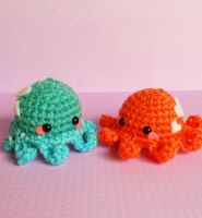 Octopus Baby Buddies (Giveaway) by milliemouse579