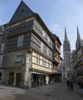 Historic Centre, Quimper by bobswin