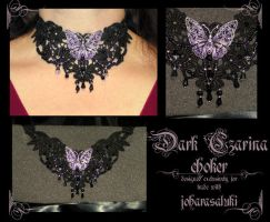 Dark Czarina choker by redLillith