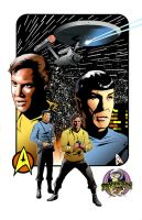 Star Trek color art by stevescott