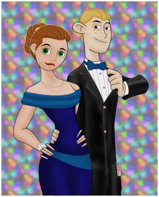Kim and Ron at the Senior Prom by CommanderArgus