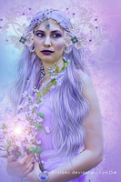 PurpleSelene by SilviaMS