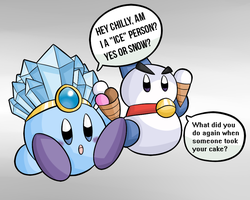 Kirby Tuesday-Ice by thegamingdrawer