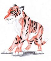 Yet Another Tiger by orxlen