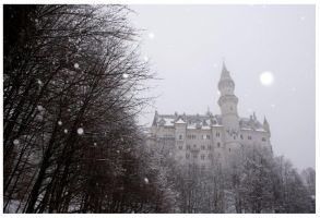 Neuschwanstein Castle by Waterlilynl
