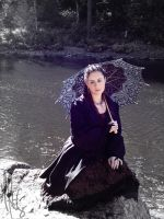 Forest shoot09. DayDreaming by MelanieWolfrin