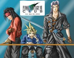 FFVII CLUB ID contest 2 by godaiking