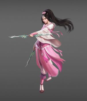 Age Of Wushu Dynasty- Emei by atomhawk