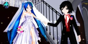 Heres your Angel - Bride And Groom by XXSefa