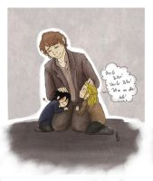 TH: Uncle Bilbo by yuminica