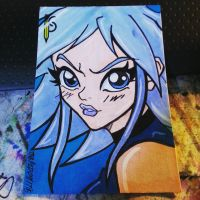 Killer Frost Mini Card by the-kid36