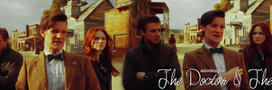 The Doctor and The Ponds by feel-inspired