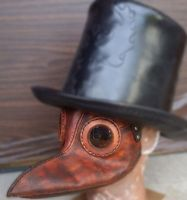 Plague doctor mask by Leatherfanshop