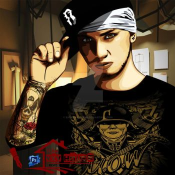 Billy Crawford VxV made by me using Photoshop by Barukanon1992