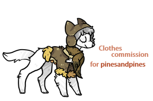 Clothes Commission For Pinesandpines by silly-sweetness