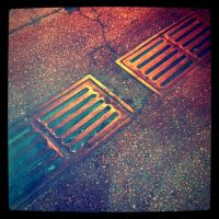 in the gutter by Vince-Zombie