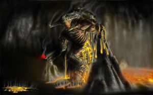 Cyberdemon of Doom 3 by Unreal-Forever