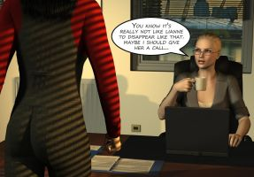 Penelope - Working Late 24 by Torqual3D