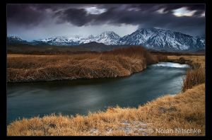 Owens River Storm by narmansk8