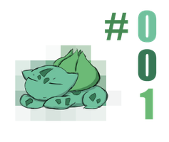 #001 - Bulbasaur by alexisrose1454