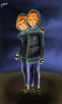 3 and 4 Humanized by sk8erXGirl