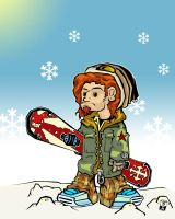 Snowboarder-Concept by soupcan13