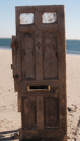 The Door on the beach. by Kenchan666