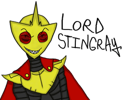 Lord Stingray (Colored Only) by BoomBuzz