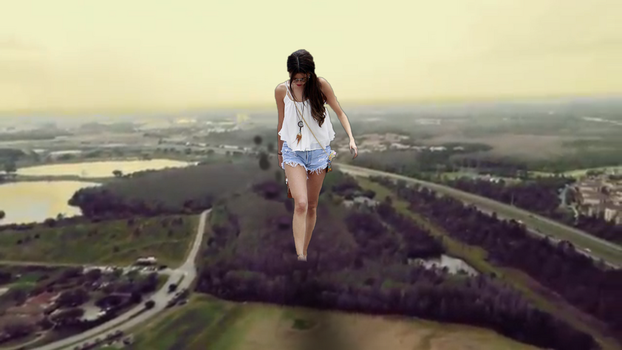 Giantess selena by Bluemananthony1