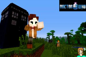 11th Doctor - Minecraft Skin by Miyaa18