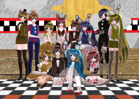 Five Nights at Meiko's Squad by Marceline-9