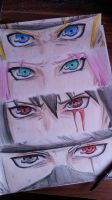 Team 7 eyes REMAKE by xNamida