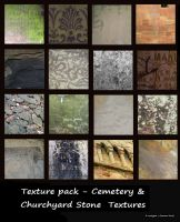 Texture Pack - Cemetery and Churchyard Stone by rockgem