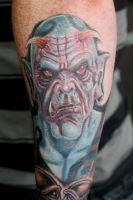 demon tattoo by JasonJacenko