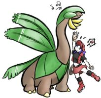Tropius and Ranger by streakhc
